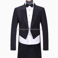 Top Exquisite Wedding Tuxedo Swallow Tailed