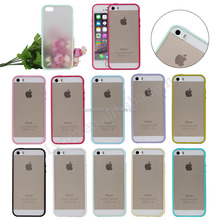 Hot selling Matte PC hard cases with TPU side for i Phone 5 5S,for apple iphone5 phone case
