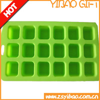 Customized ECO- friendy food grade silicone ice cube tray