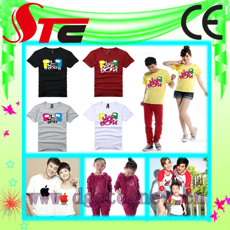 t shirt printing mahine with high quality heat press transfer