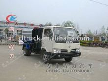 5m3 garbage container lift truck,automatic lift garbage truck,swing lift refuse truck