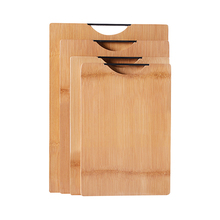 One Piece Seamless Bamboo Cutting Board without Glue
