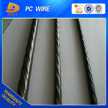 Spiral ribbed pc steel Wire with price list