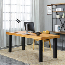 High quality classic 4 cm thickness solid wood home office furniture for sale