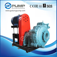 high volume rubber or chrome excellent suction lime slurry pump