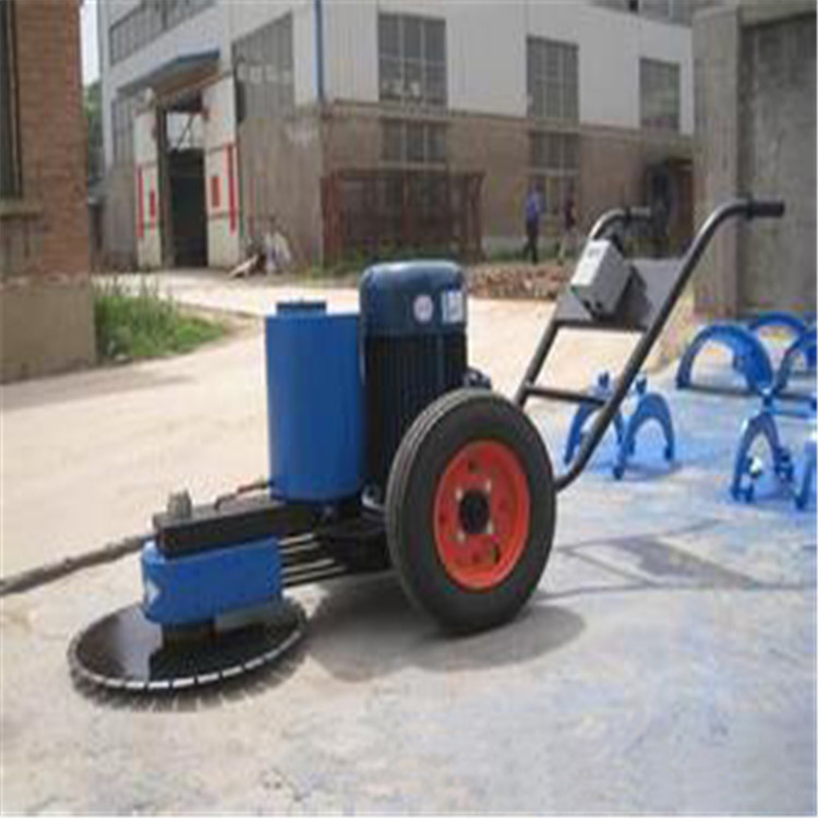 Concrete electric pile cutting machine for high- speed railway and highway construction