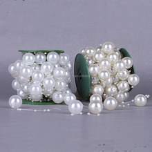 Wedding Ivory Artificial Pearls Bead Garland