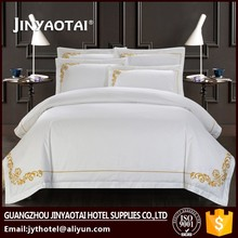 Luxury Bed Sheet 100% Cotton Embroidery 1000TC Modern Bedroom Sets
