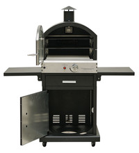 Outdoor multifunctional bbq oven with inside light