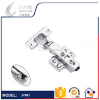 Jieyang Nice SS 201 Clip On Hydraulic Hinge for Cabinet, Furniture Hardware