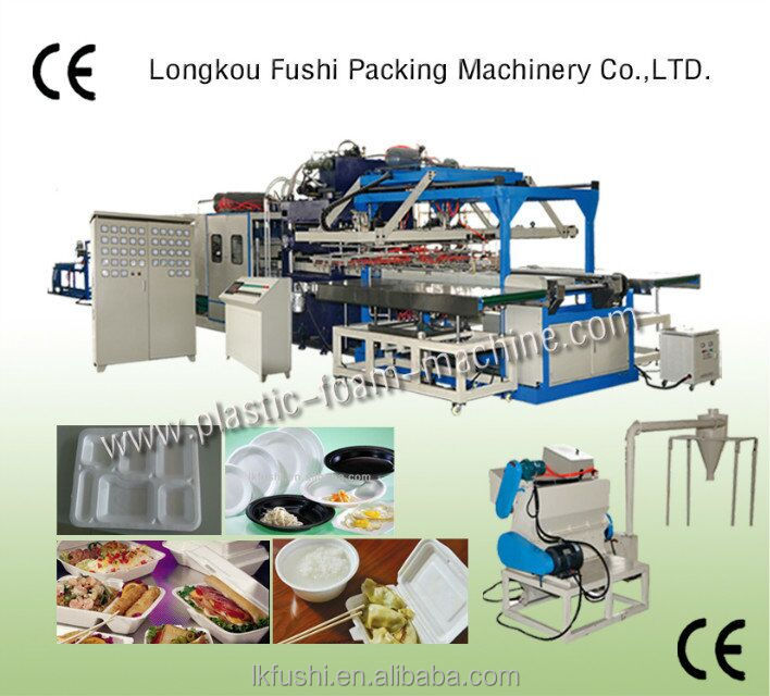 disposable plate making machine china high speed vacuum forming machine price