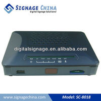 Wireless Remote Control Network Connection Digital Signage LCD Advertising Software Multimedia Boxes