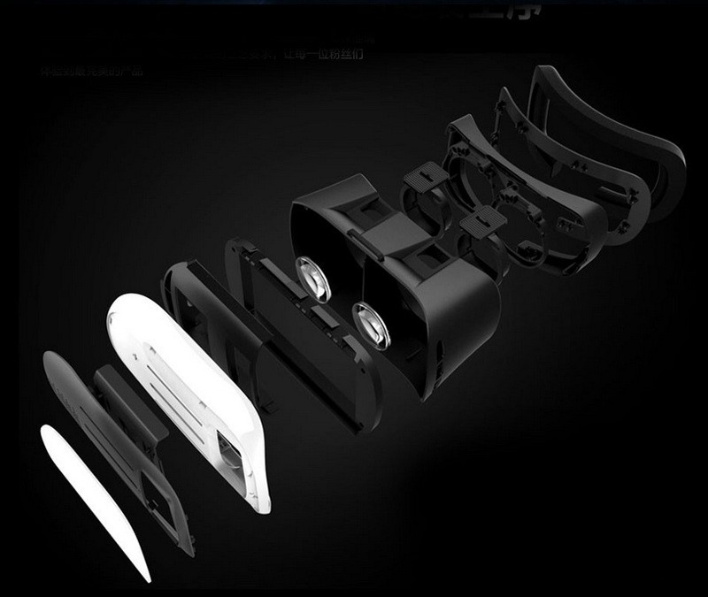 3d vr glasses virtual reality for smartphones