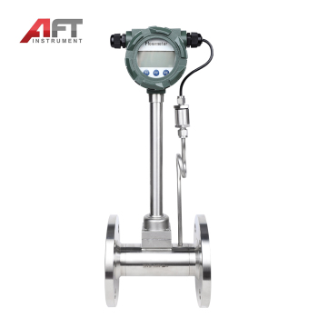 AFT temperature and pressure compensation water gas vortex flow meter