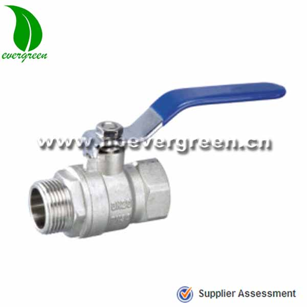 Guaranteed Quality single handle Forged NPT brass ball valve