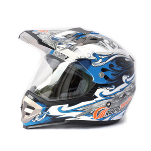 Off Road Paintball Pilot Plastic Baseball Open Face Motorcycle Helmet For Sale