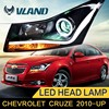 CE Rohs e-mark certification lamp type and new type brighter light bar head lights chevrlet cruze