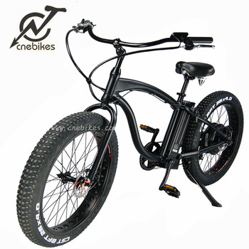 New design fat tire 26Inch 500W 48V beach electric bike for man