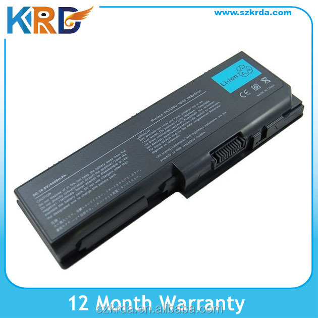 Replacement laptop battery for Toshiba P200 P300 L350 L300 L355 X200 X205 series PA3536U-1BRS PA3536U-1BAS