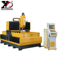 china servo sotor cnc gantry plate drilling tapping milling machine