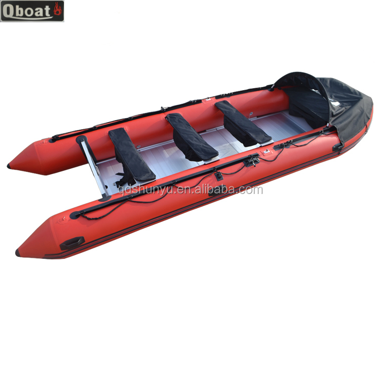 CE foldable cheap Inflatable boat with 40hp outboard engine