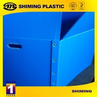 Diverse Size Durable Collapsible PP Corrugated Plastic Box