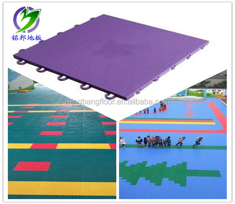 High Quality pp interlocking plastic garage floor tiles