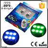 T10 5050 12smd turn signal brake width lights on car RGB with controller
