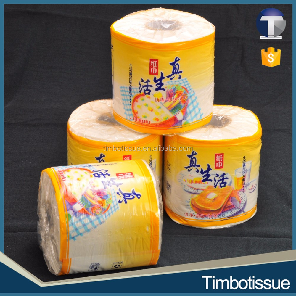 Bamboo wholesale price toilet tissue paper roll manufacturing plant
