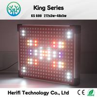 AC100V-240V Full Spectrum 200W 400W 600W LED Plant Lights For Indoor Hydroponics LED grow lights orchid plants grow lights
