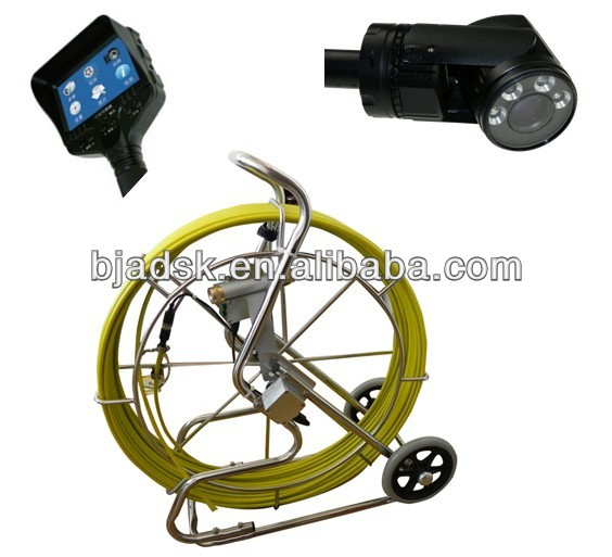 360 Pan Pipe Inspection Camera with 100meter cable