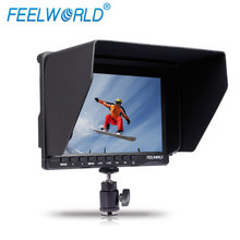 super 7 inch camera field monitor hdmi with IPS panels desktop or wall mount