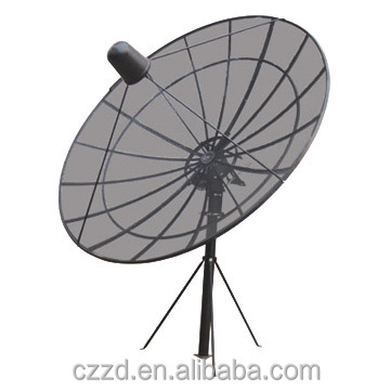 HD C-band-1.8M Big Solid Mesh Satellite Television dish 6FT
