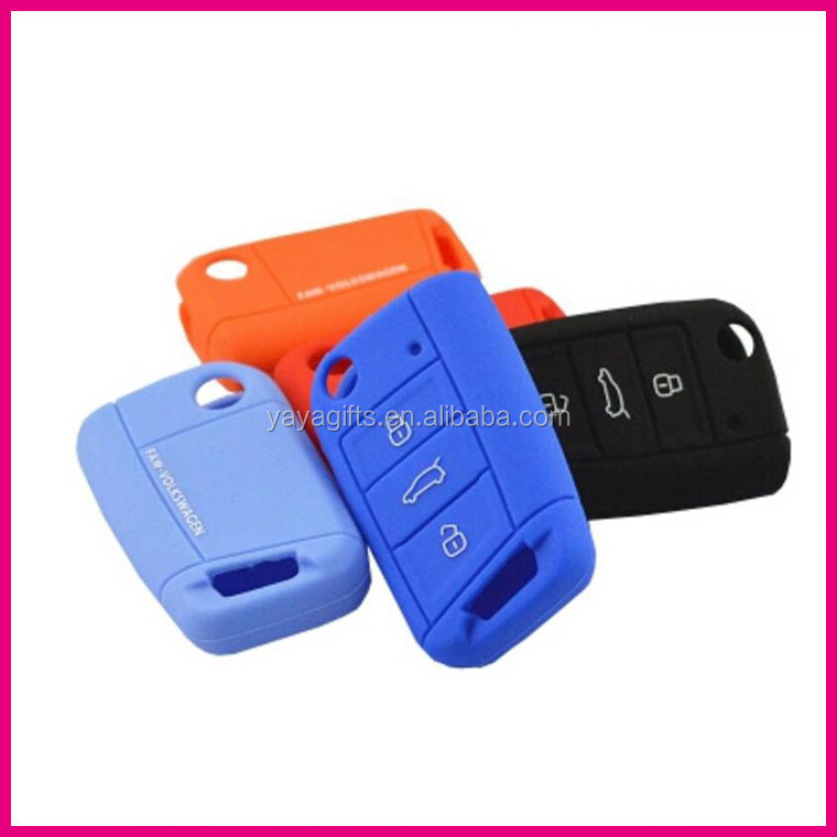 hot selling item for VW silicone covers for car <strong>key</strong>
