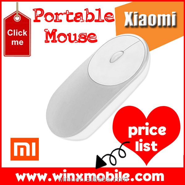2017 new Xiaomi Portable mouse wifi 2.4G and Wirless Bluetooth 4.0 Mini Mouse for notebook laptop computer alibaba in russian