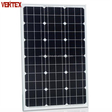Supply 50W 100W Mono Crystalline Solar Panel With Good Cell Used For Off Grid System