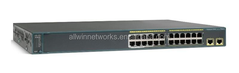 WS-C2960X-24TD-L Cisco Catalyst 2960X 24 Ports Managed Desktop Rack-Mount 1U Switch