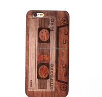 20 colors Simulation Wooden Grain PC Mobile Phone Case Cover for iPhone5 5se 6 6s plastic case