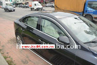 Window Visor , window Deflector, weather shields with chrome molding