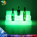 Fashionable Trade Show Beer Display Stands LED Bar Wine Bottle Stand