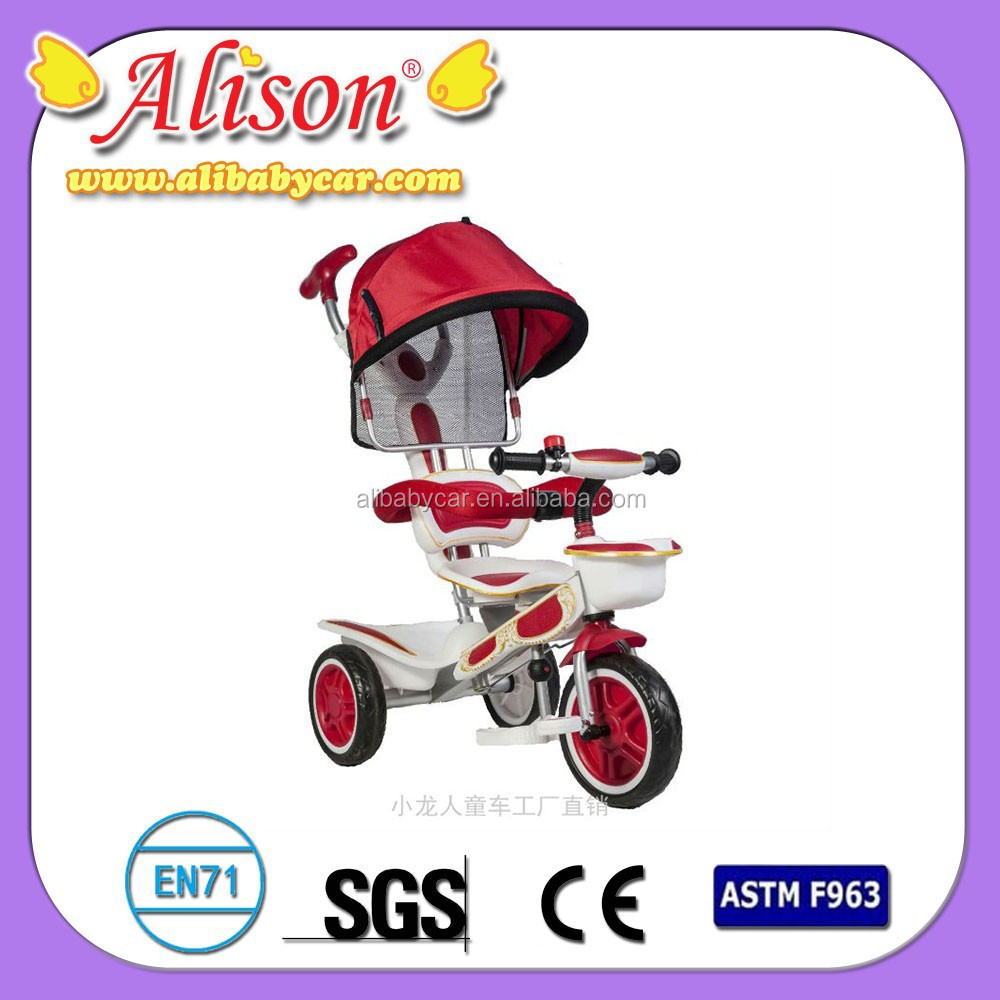 Alison C05605 pedal toy car children tricycle and trailer