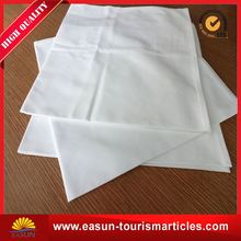Low price table napkin folding design fabric cloth napkin for bread basket