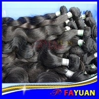 Top quality pure 100% virgin raw cheap Brazilian hair weave no mixed no synthetic 100 real human hair