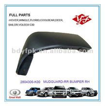 2804306-K00 for Great Wall Hover Plastic Mudguard