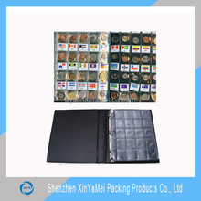 Customized Paper PVC Collecting Penny Coin Album