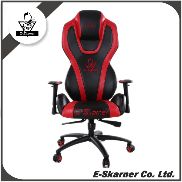 E-Skarner red modern excellent gaming adjustable electronic game chair