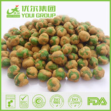 2017 Savory Crispy Barbecue Coated Green Peas for Sale, Barbecue Green Peas Best Price, Wholesale Dried Coated Peanuts