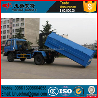 RHD China garbage truck 1-2cbm FORLAND roll on roll off garbage truck
