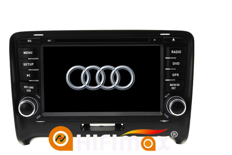 HIFIMAX Android 5.1.1 car audio For Audi TT MK2 gps Navi 16GB quad-core DVD