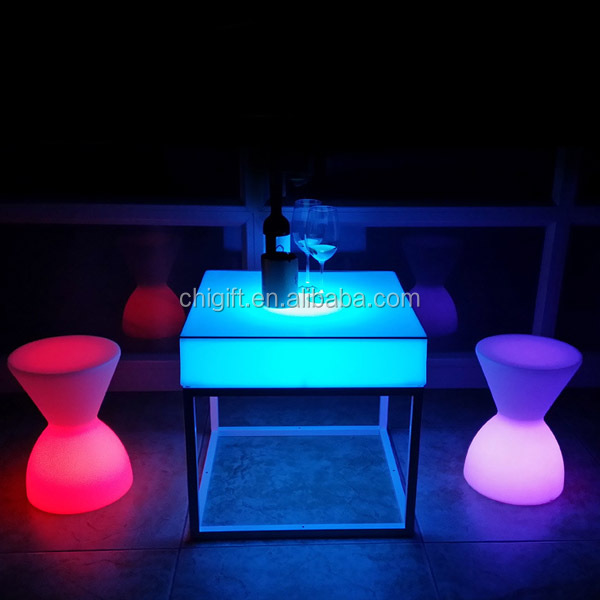 LED Portable <strong>Bar</strong> Illuminated LED Furniture Dubai